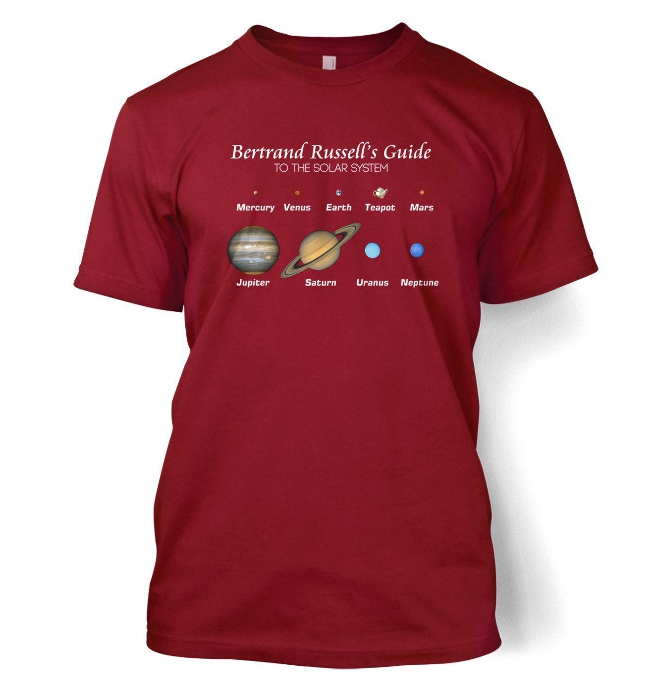 Bertrand Russell's Guide t-shirt