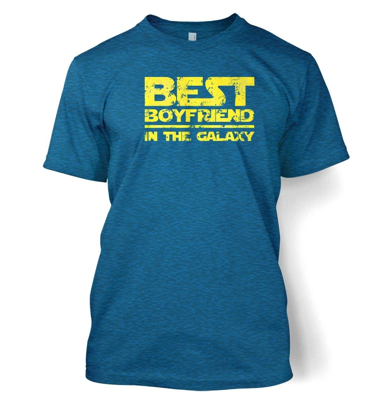 Best Boyfriend In The Galaxy men's t-shirt