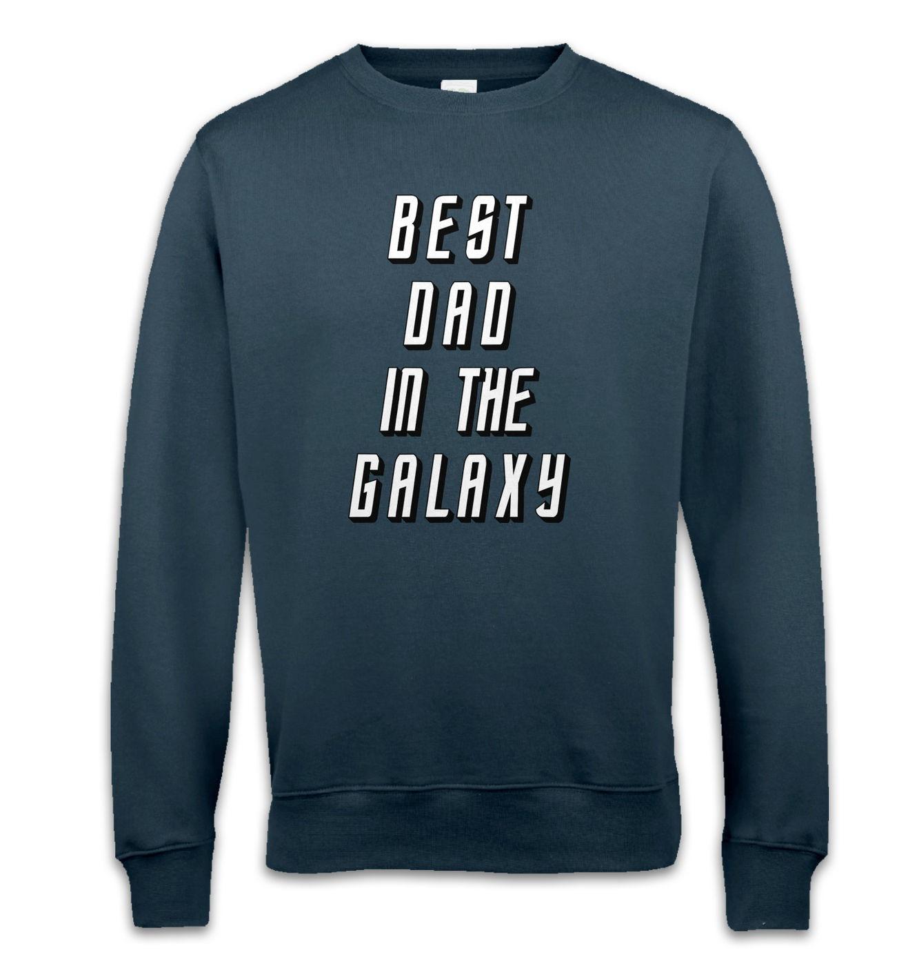 Best Dad In The Galaxy crewneck sweatshirt