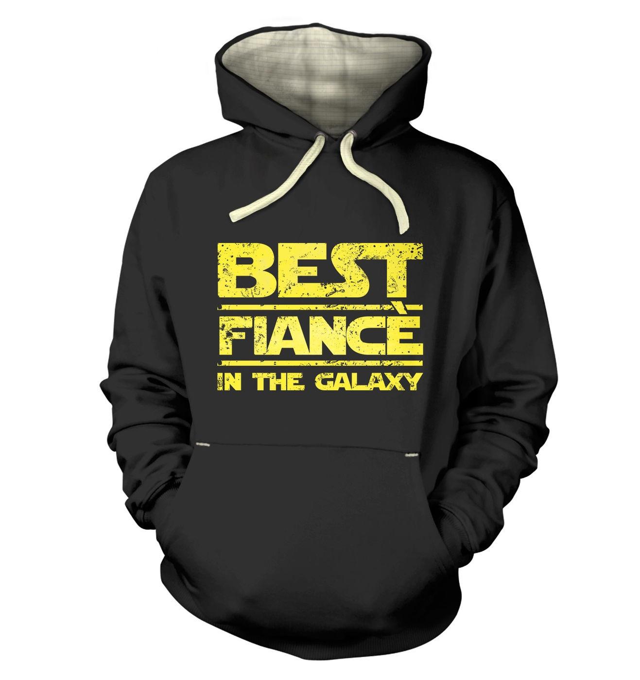 Best Fiancee In The Galaxy premium hoodie by Something Geeky