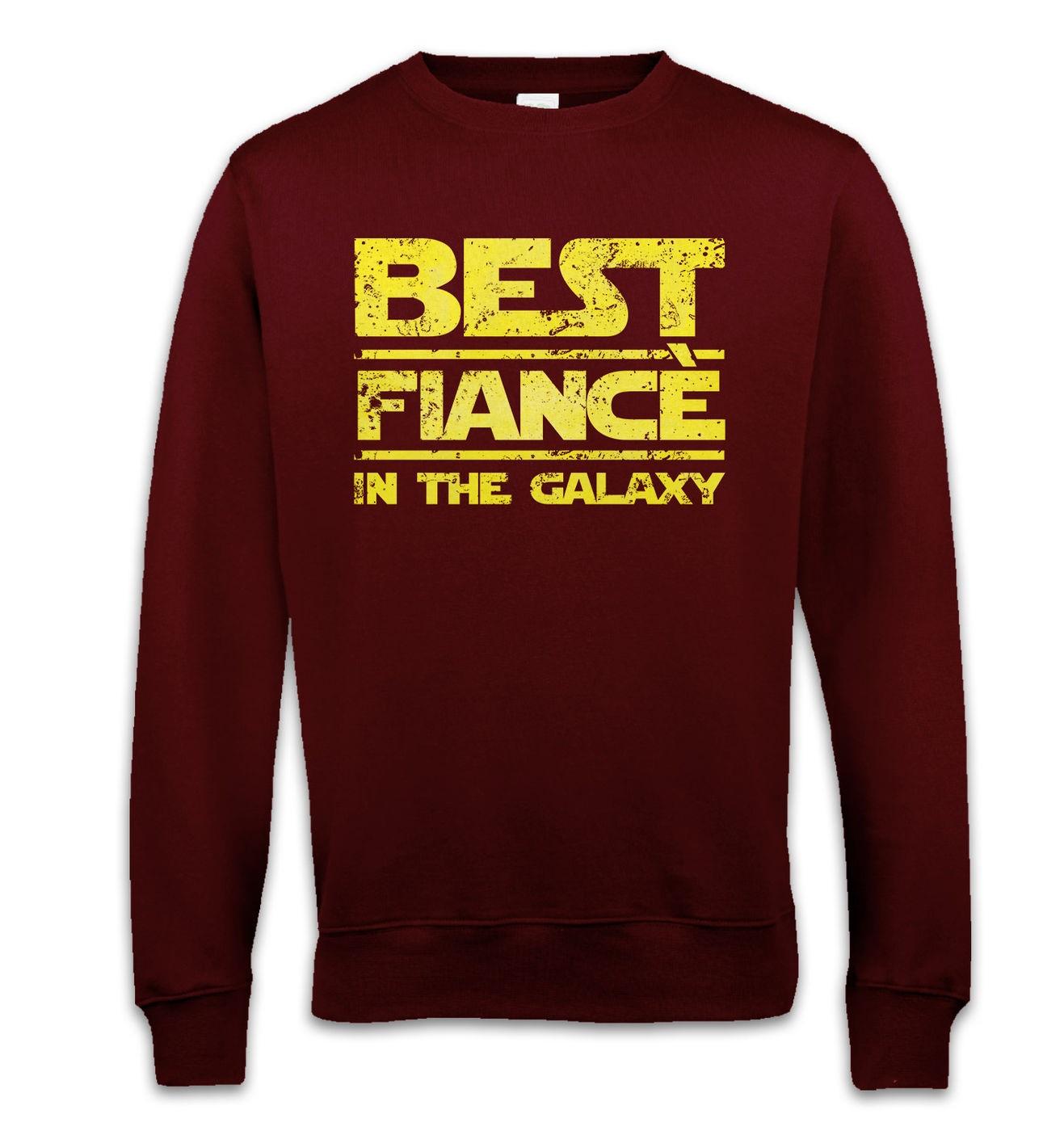 Best Fiance In The Galaxy sweatshirt by Something Geeky