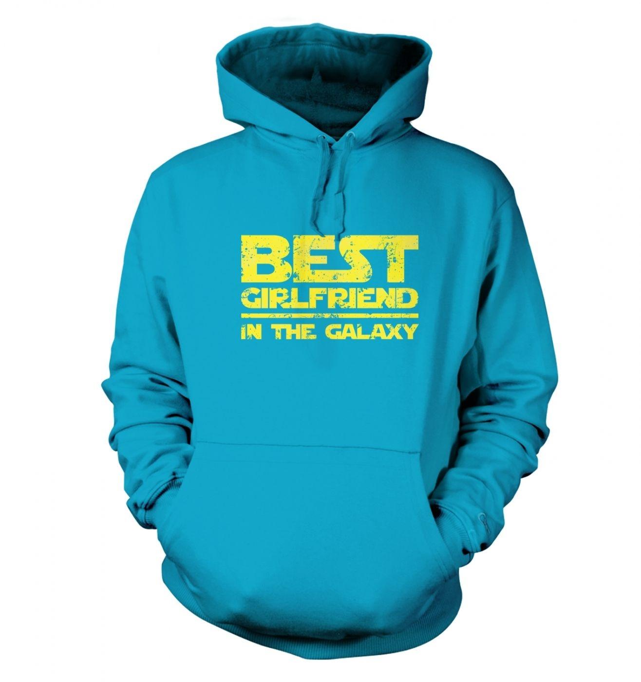 Best Girlfriend In The Galaxy adults' hoodie