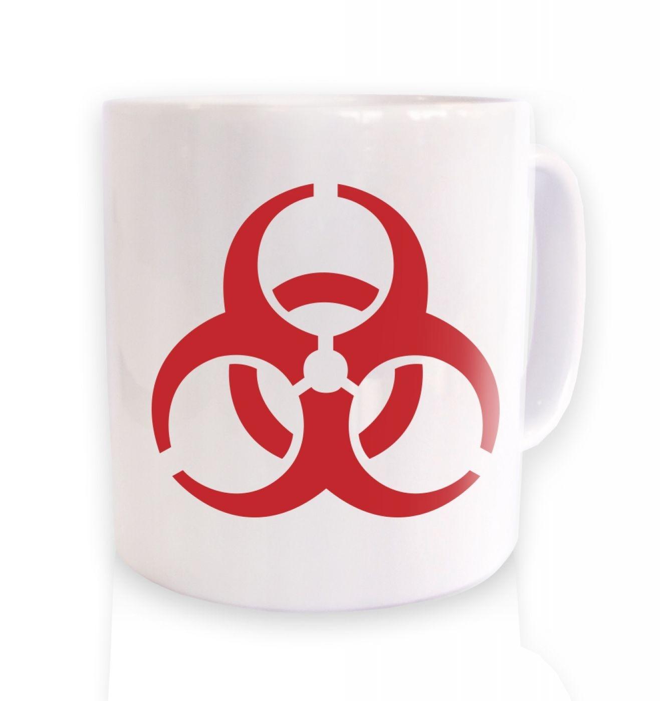 Biohazard Symbol Mug Somethinggeeky