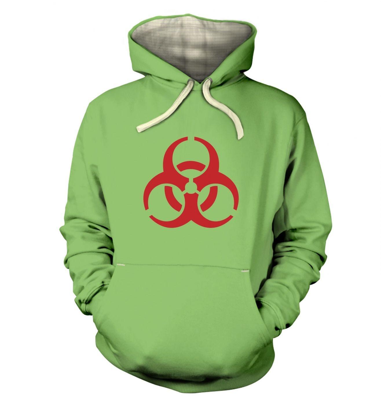 Biohazard Symbol Adult Premium Hoodie