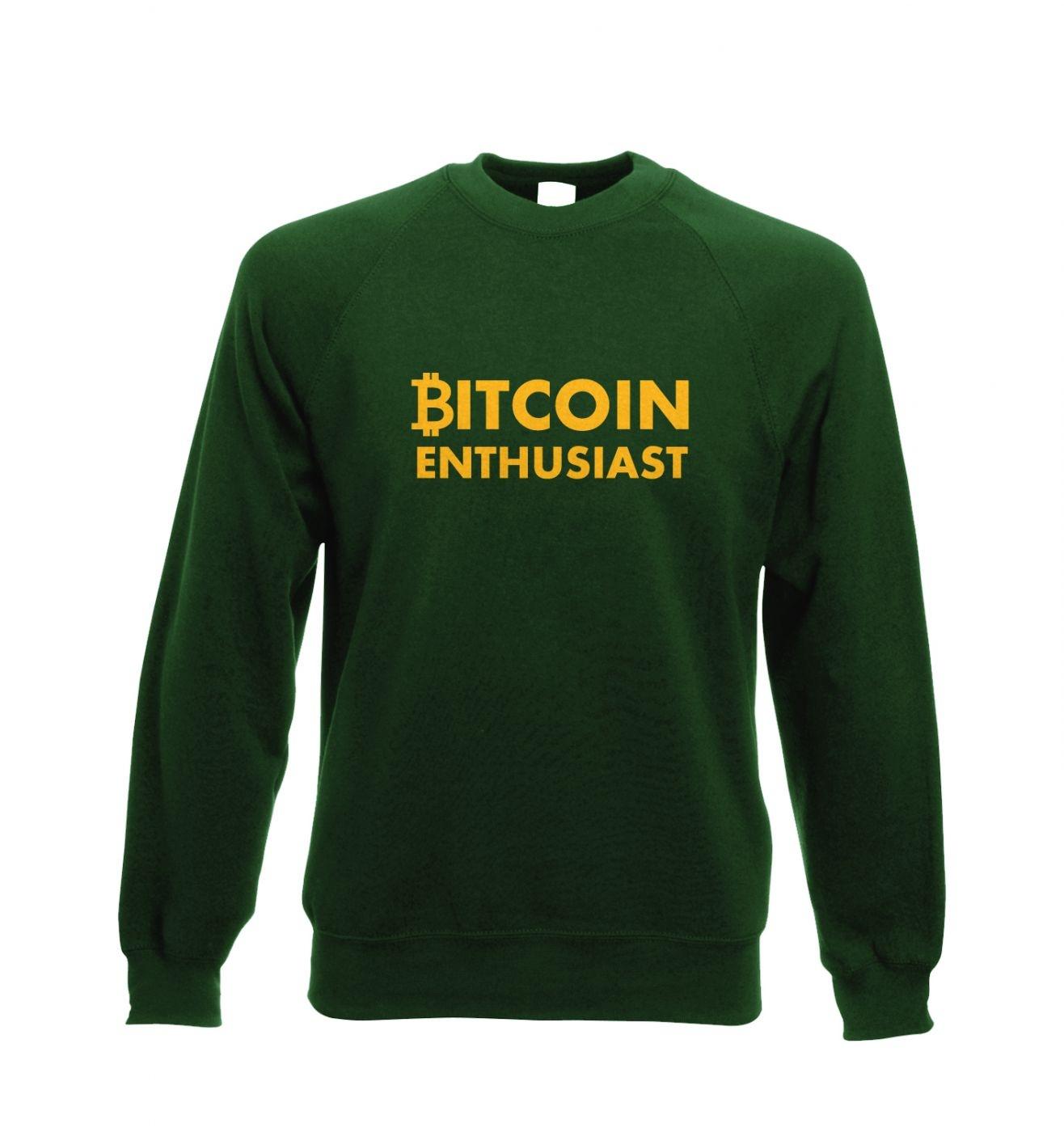 Bitcoin Enthusiast Adult Crewneck Sweatshirt
