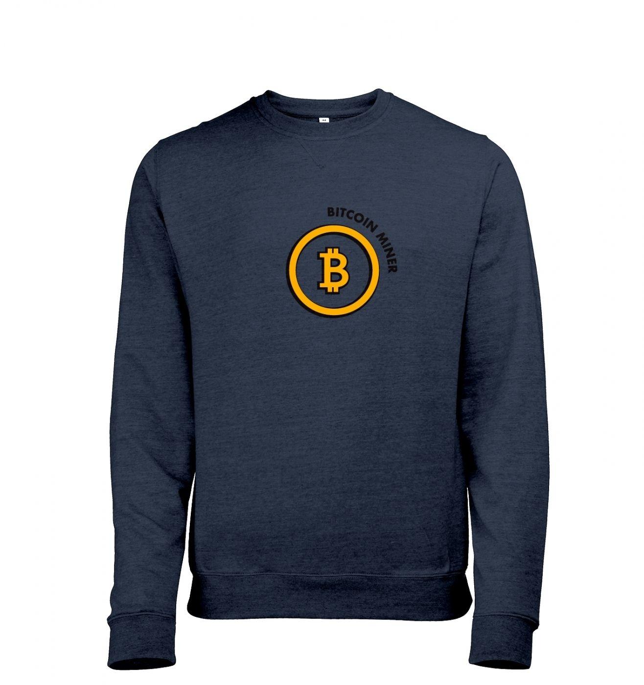 Bitcoin Miner Mens Heather Sweatshirt