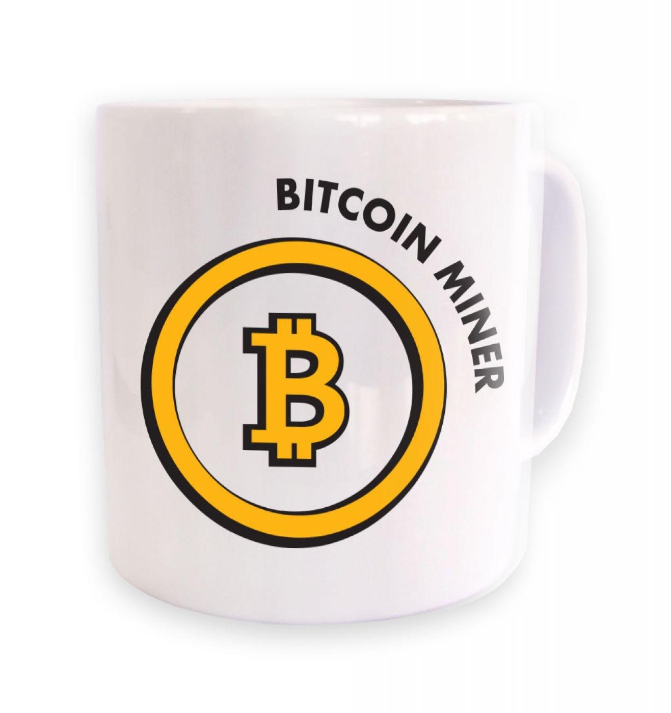 Bitcoin Miner mug