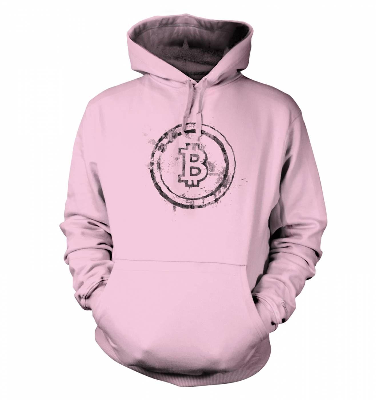 Bitcoin Splatter hoodie
