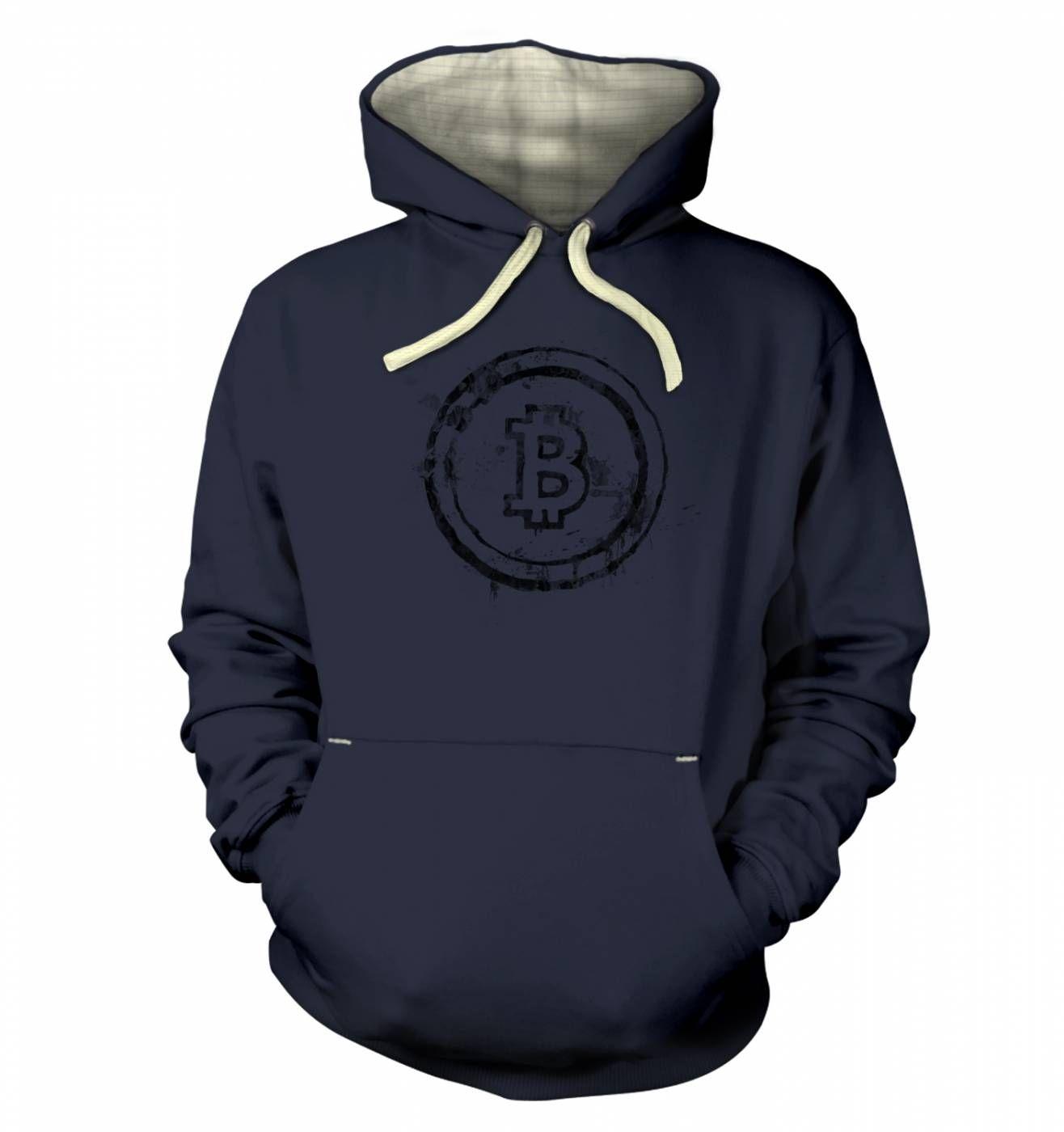 Bitcoin Splatter hoodie (premium)
