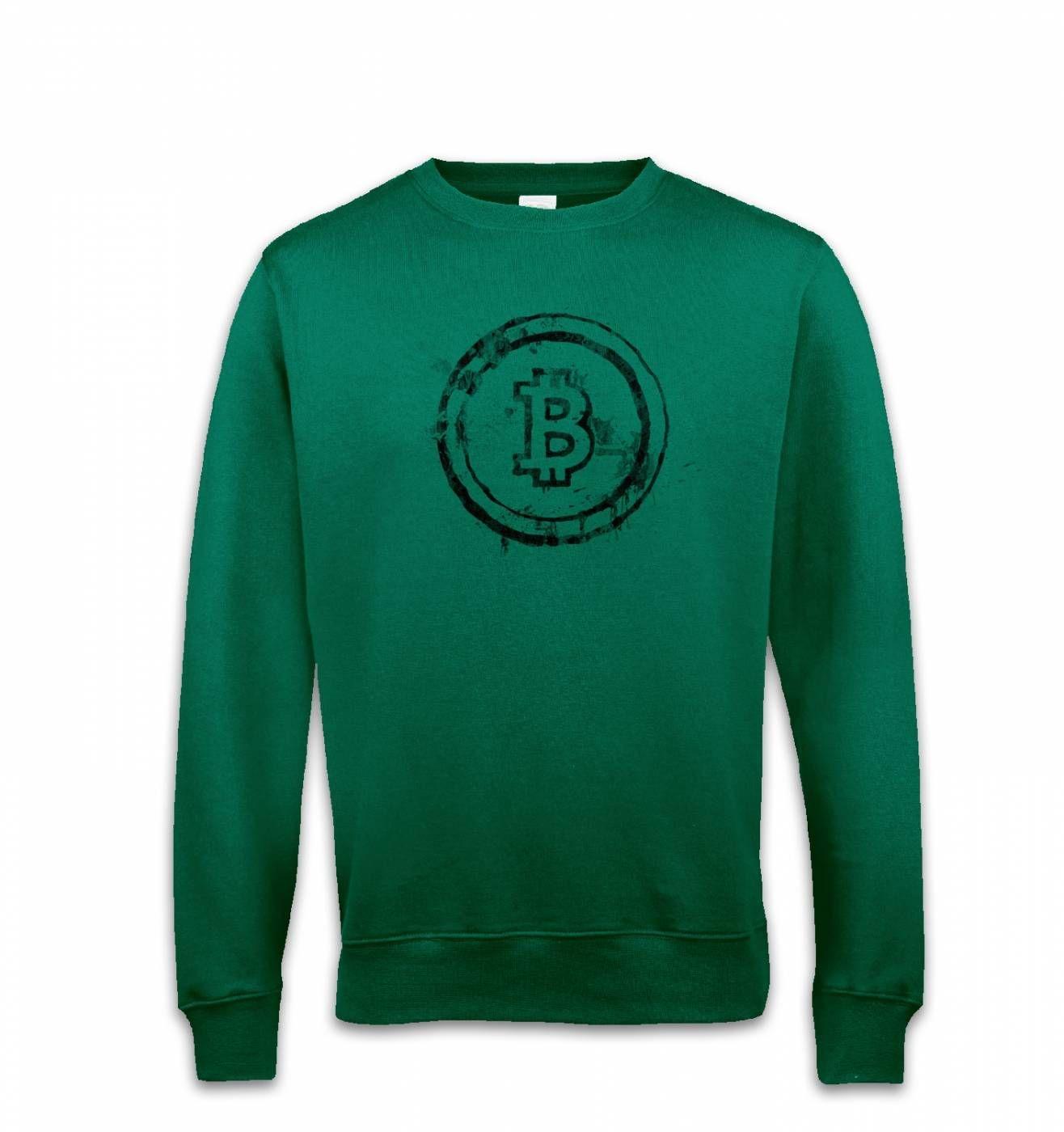 Bitcoin Splatter sweatshirt