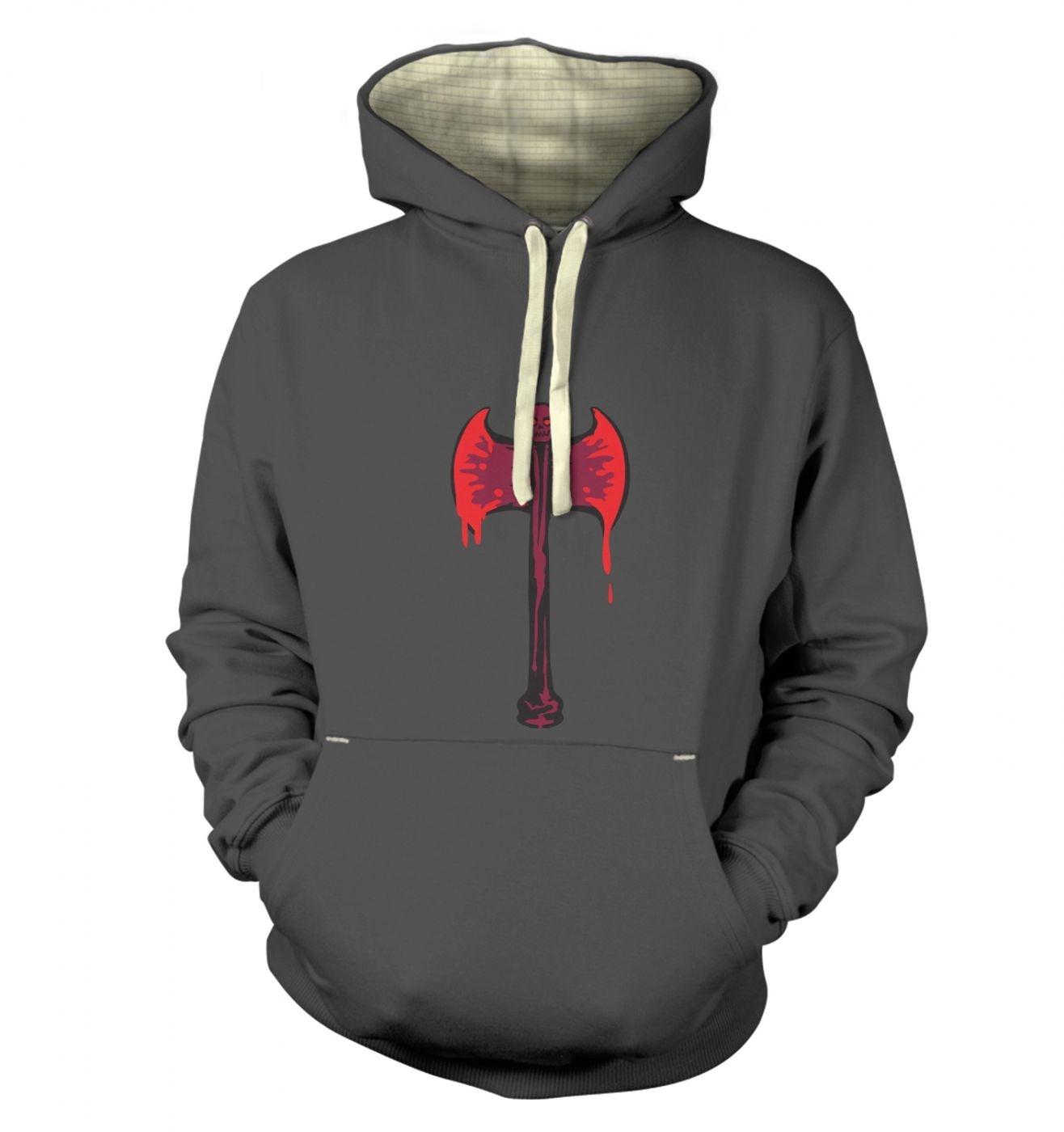 Bloody Axe premium hoodie