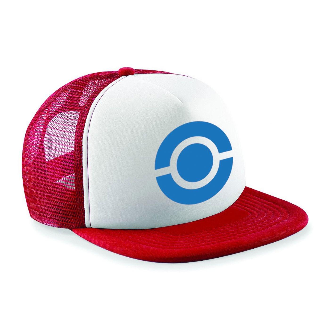 Blue Ball And Ring baseball cap