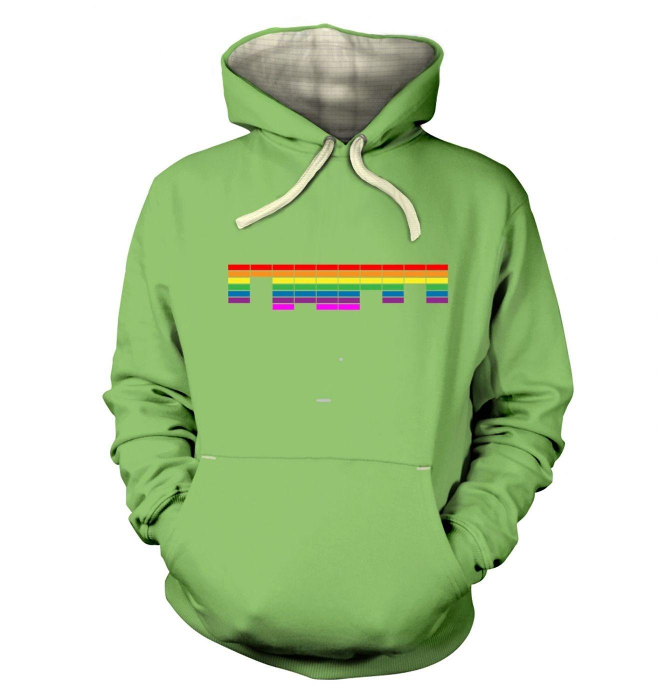 Retro Arcade Style (multi-colour) premium hoodie