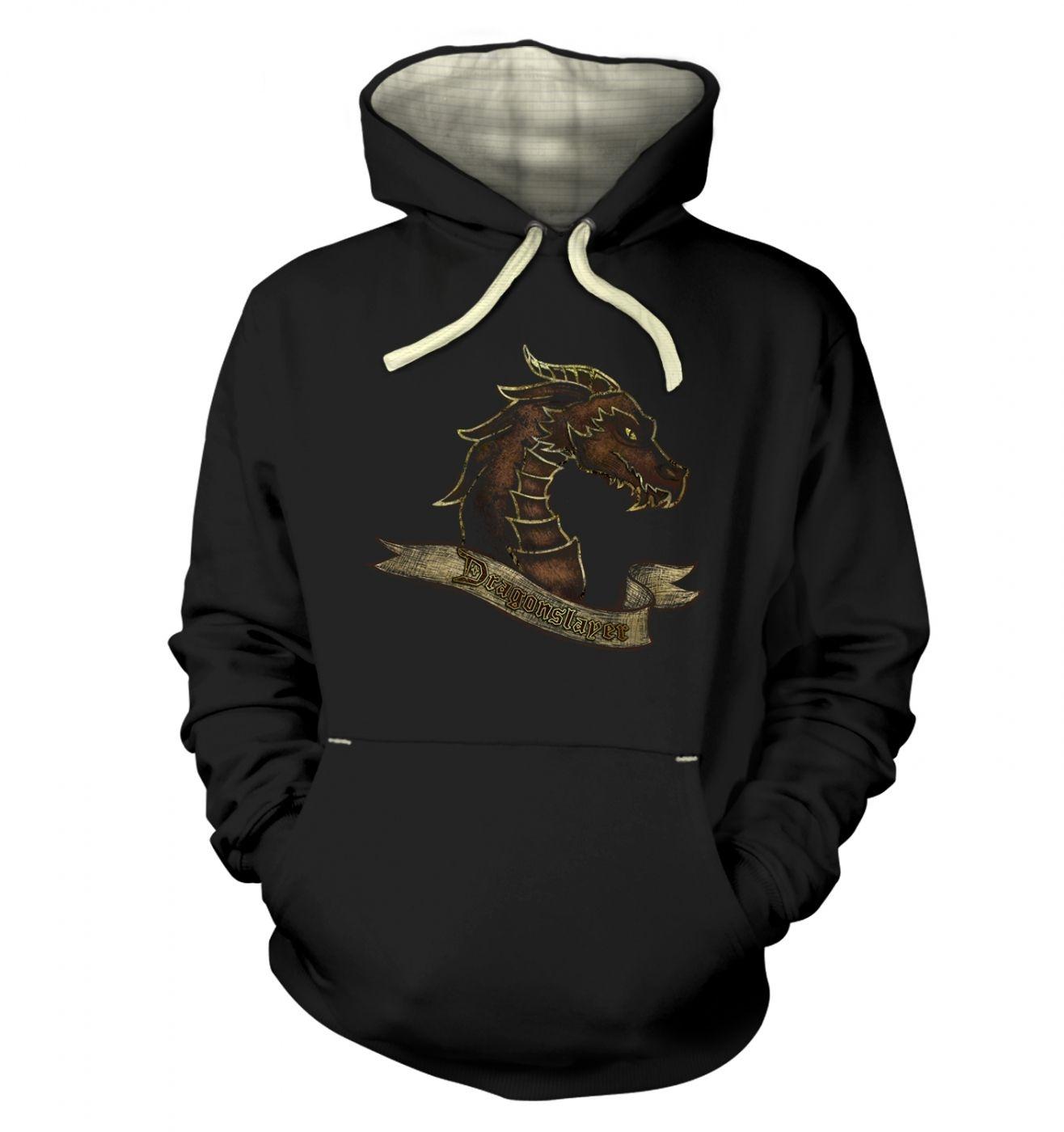 Bronze Dragonslayer premium hoodie