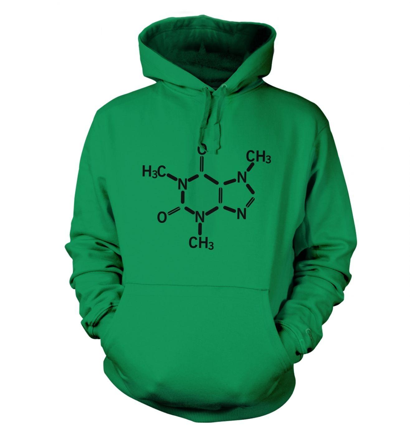 Caffeine Molecule hoodie