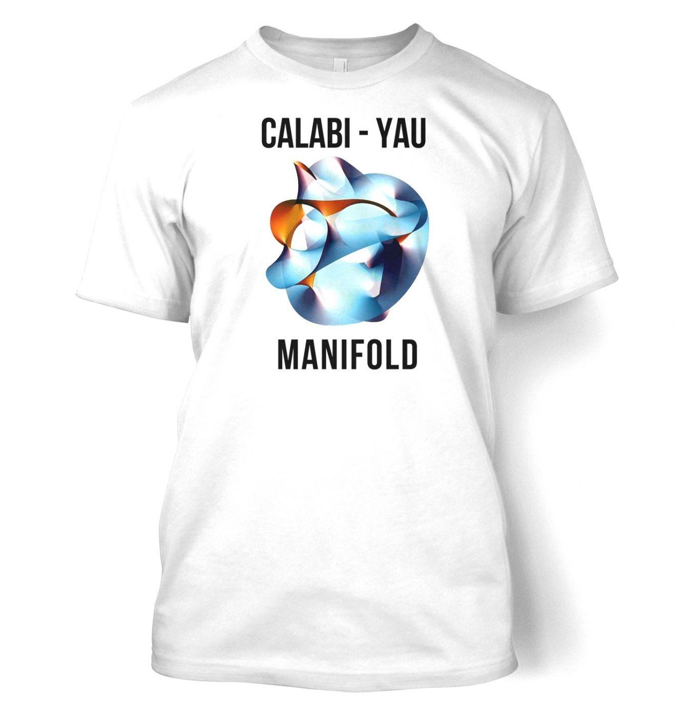 Calabi-Yau Manifold (jumbo) men's t-shirt