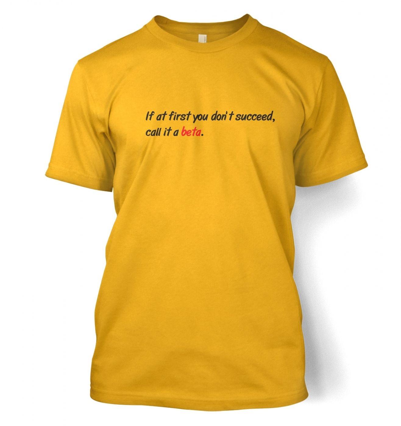 Call It A Beta men's t-shirt