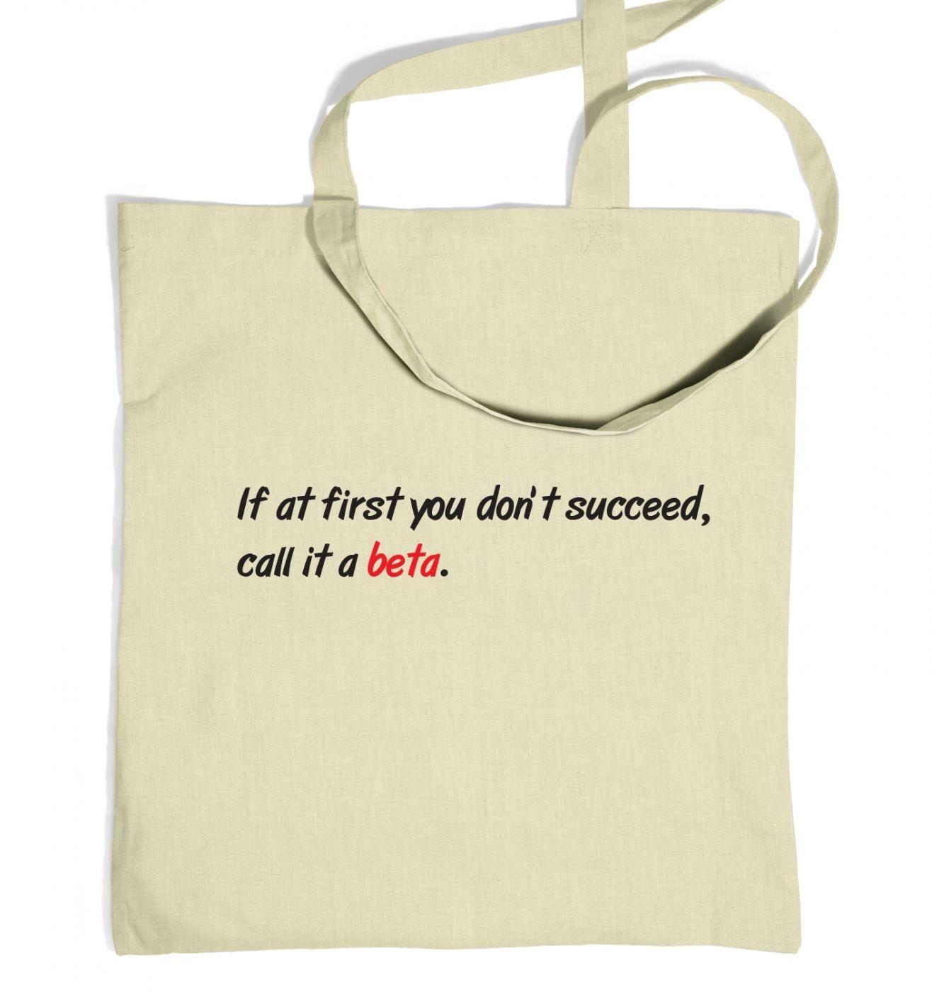 Call It Beta tote bag