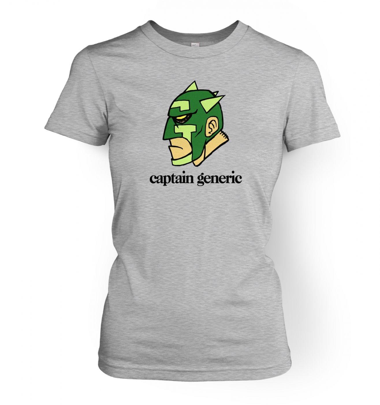 Captain generic womens t shirt somethinggeeky captain generic womens fitted t shirt gamestrikefo Choice Image