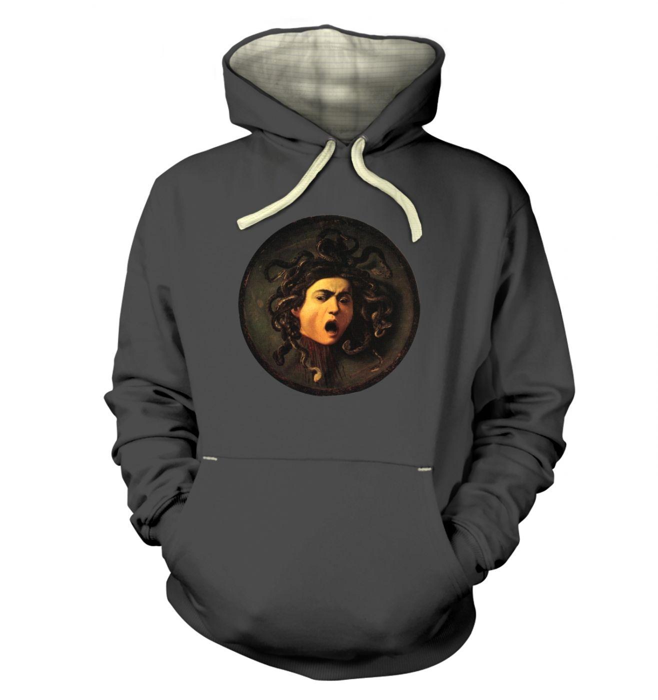 Caravaggio Medusa hoodie (premium)