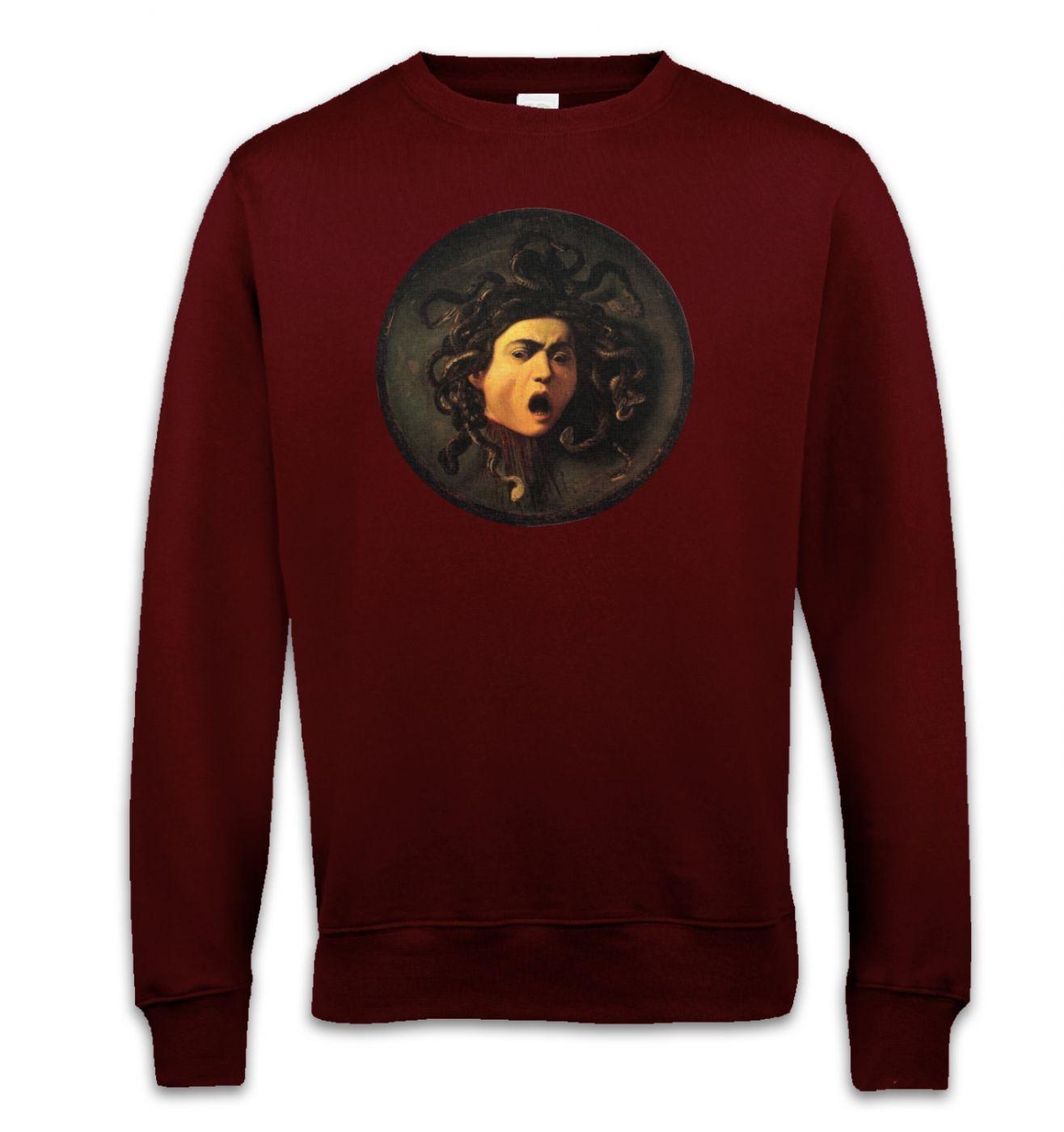 Caravaggio Medusa sweatshirt