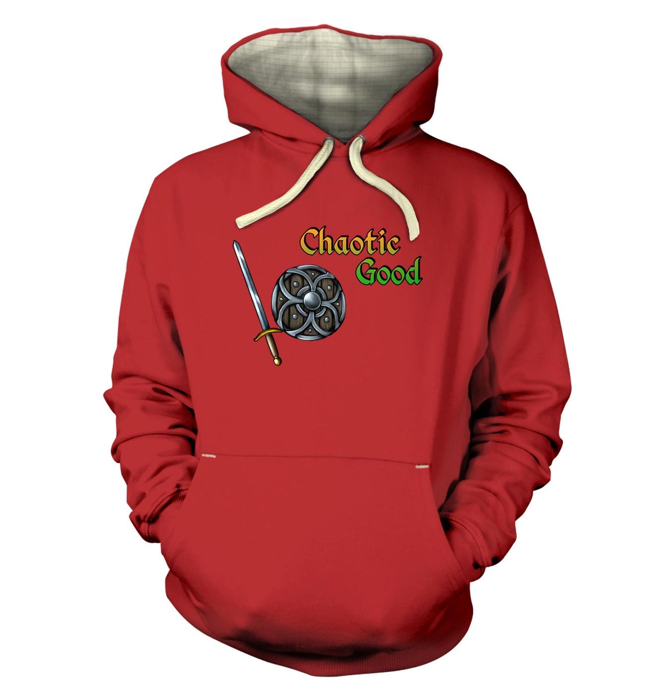 Cartoon Alignment Chaotic Good premium gaming hoodies