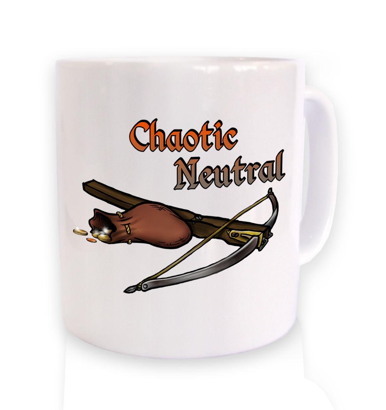 Cartoon Alignment Chaotic Neutral ceramic mug - gaming mugs