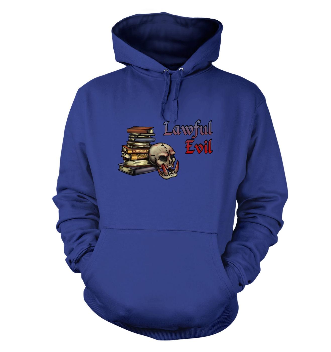 Cartoon Alignment Evil hoodie - gaming hoodies
