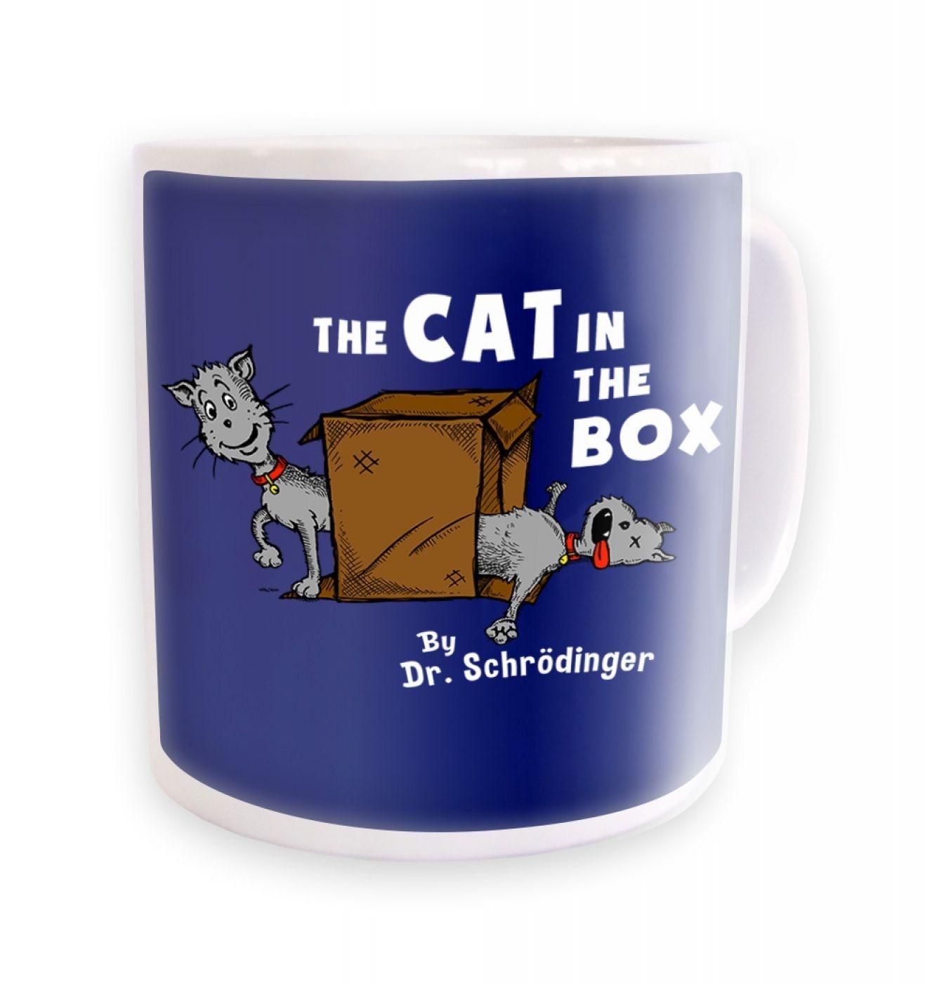 Cat In The Box Dr Schrodinger  mug