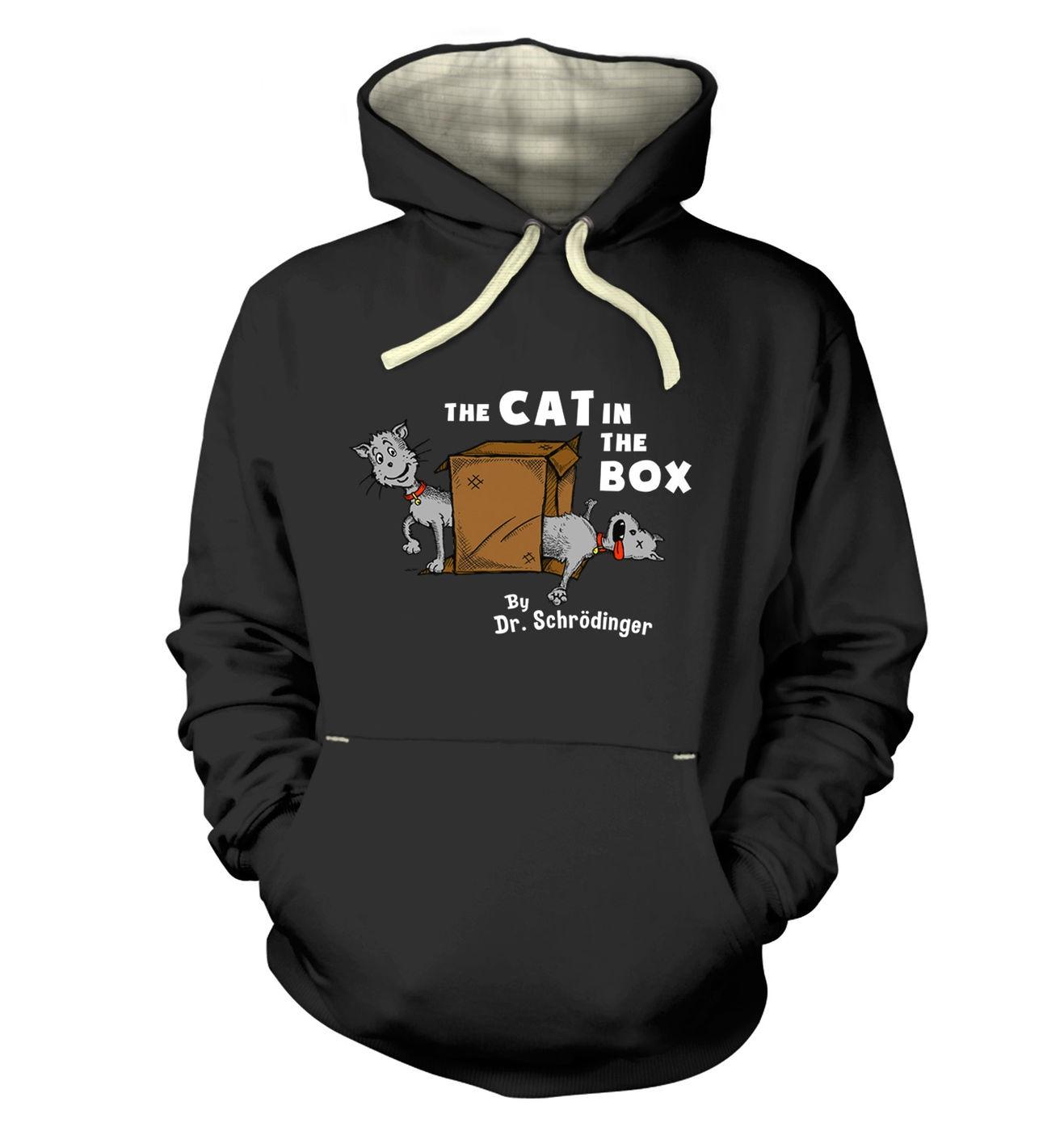 Cat In The Box Dr Schrodinger hoodie (premium)