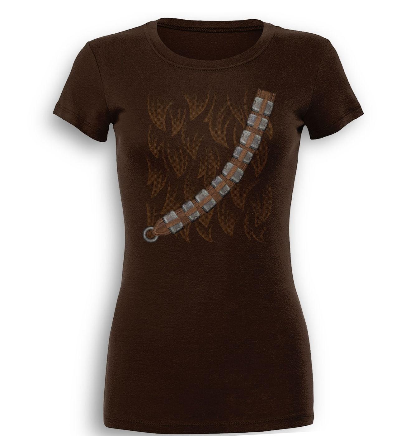 Chewie Costume premium womens t-shirt by Something Geeky
