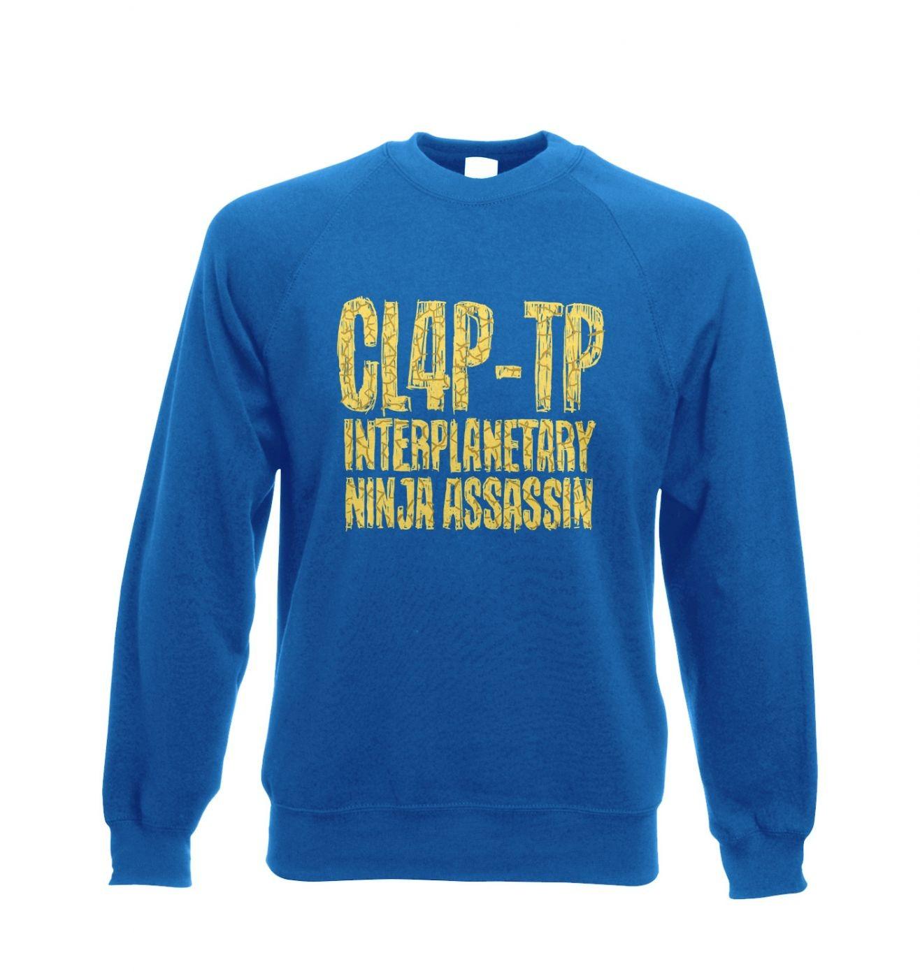 Clap Trap crewneck sweatshirt