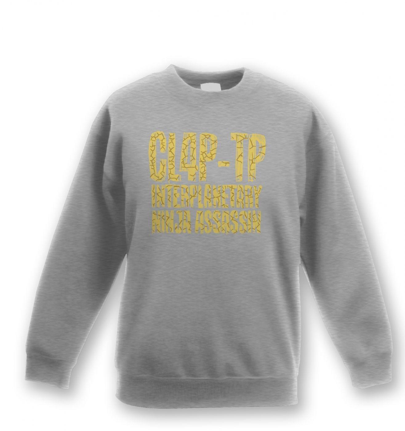 Clap Trap kids' sweatshirt