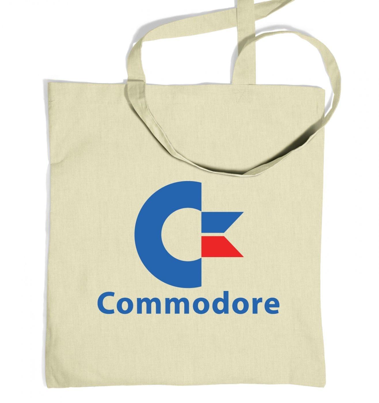 Commodore Logo tote bag