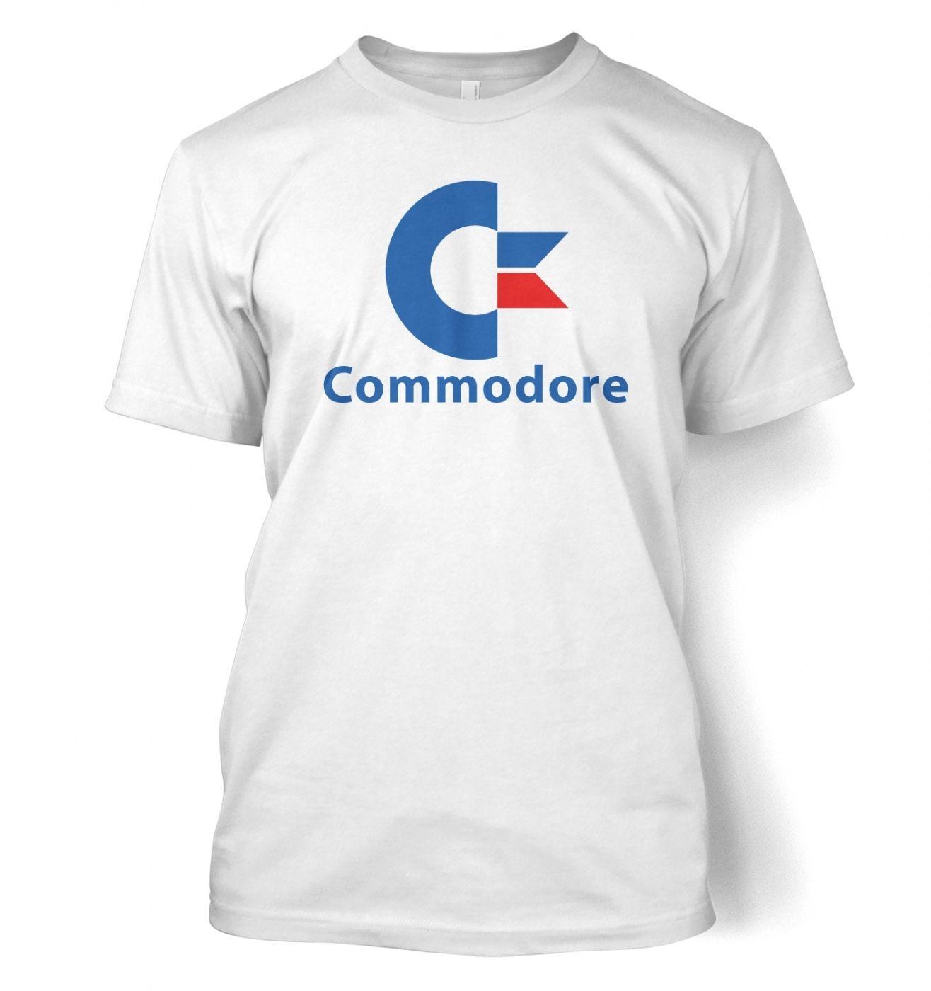 Commodore Logo men's t-shirt