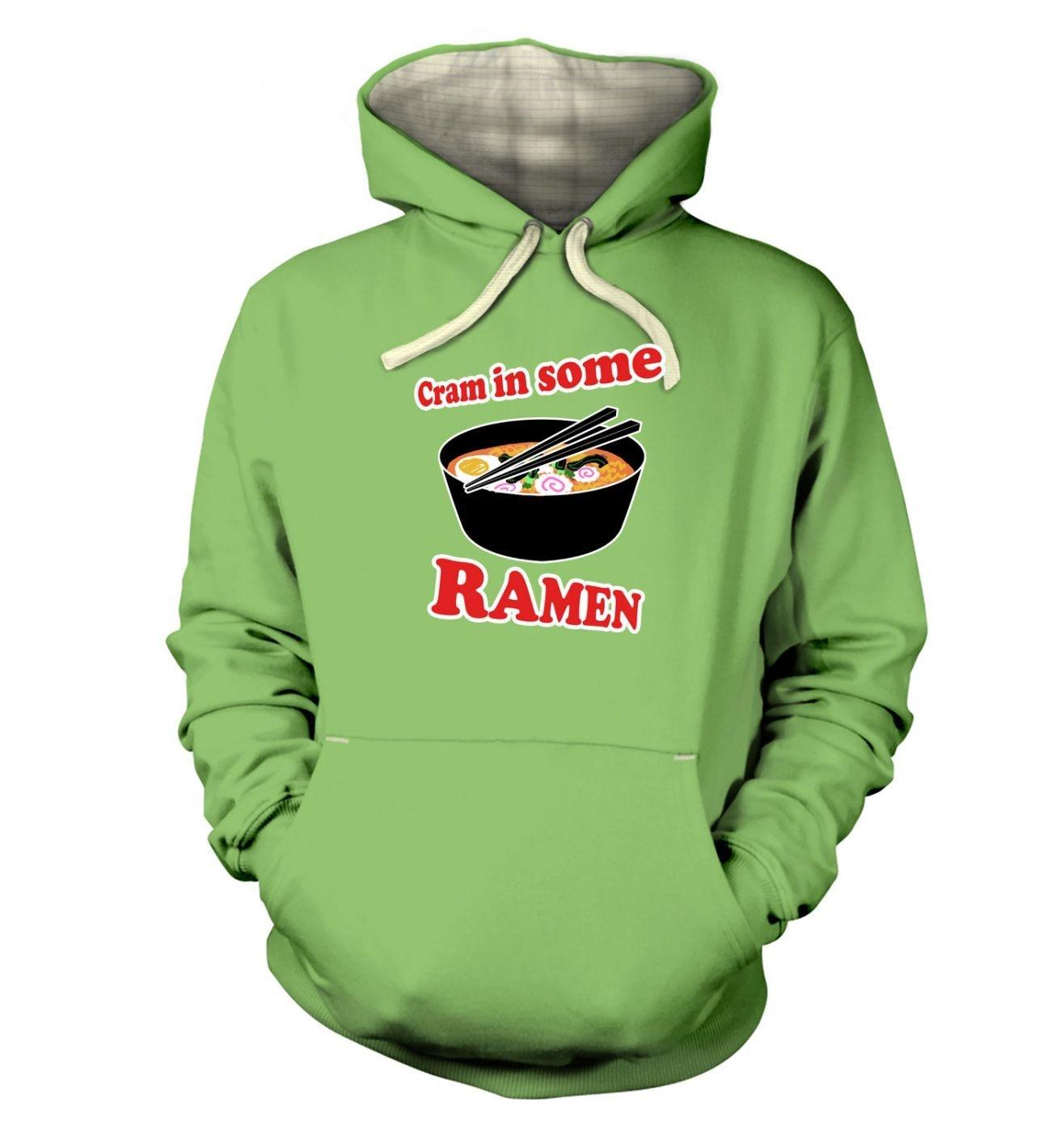 Cram In Some Ramen Premium Hoodie