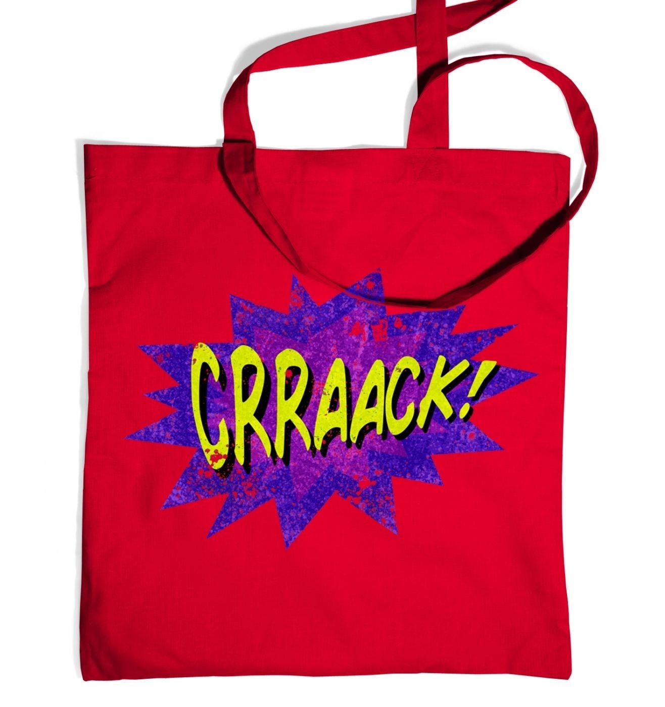 Crraaack tote bag