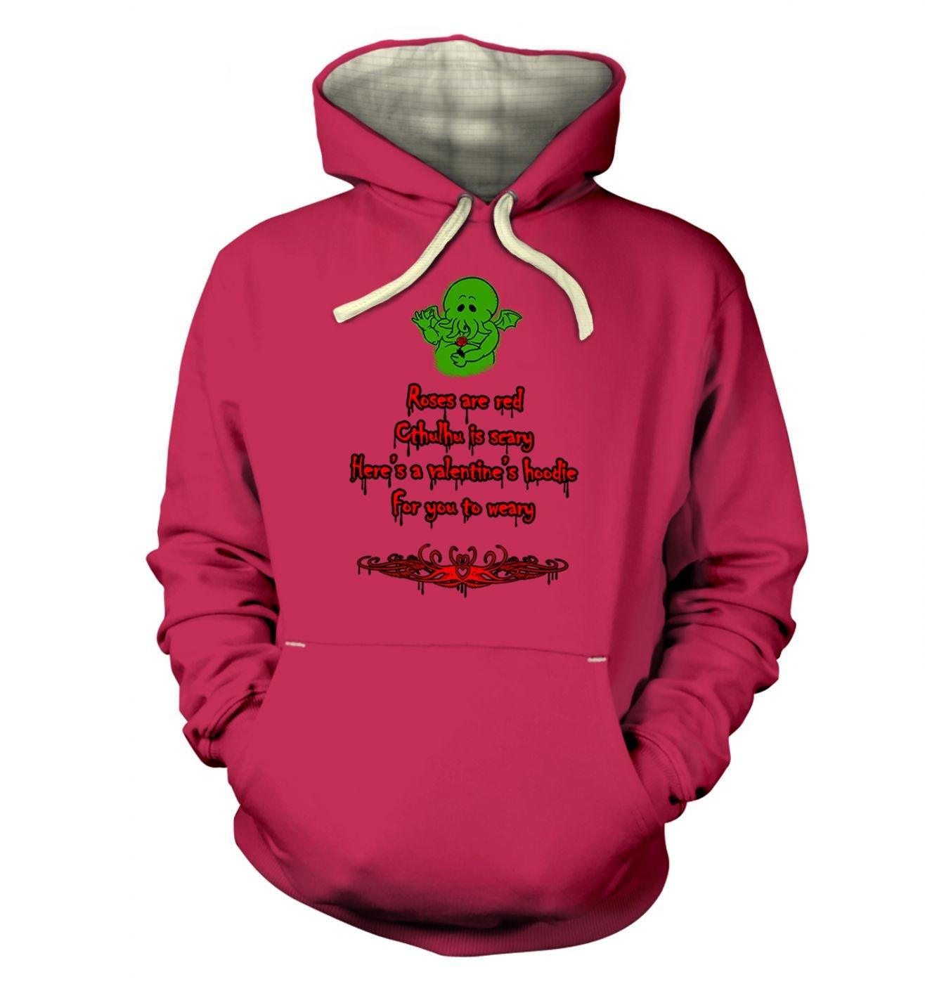 Cthulhu Valentine hoodie (premium)