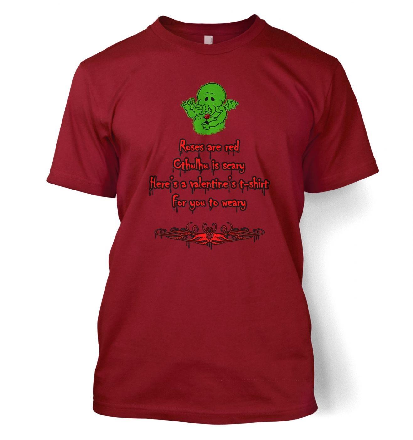 Cthulhu Valentine t-shirt