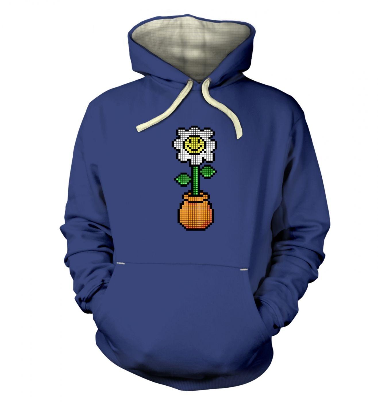 8-Bit Daisy premium hoodie