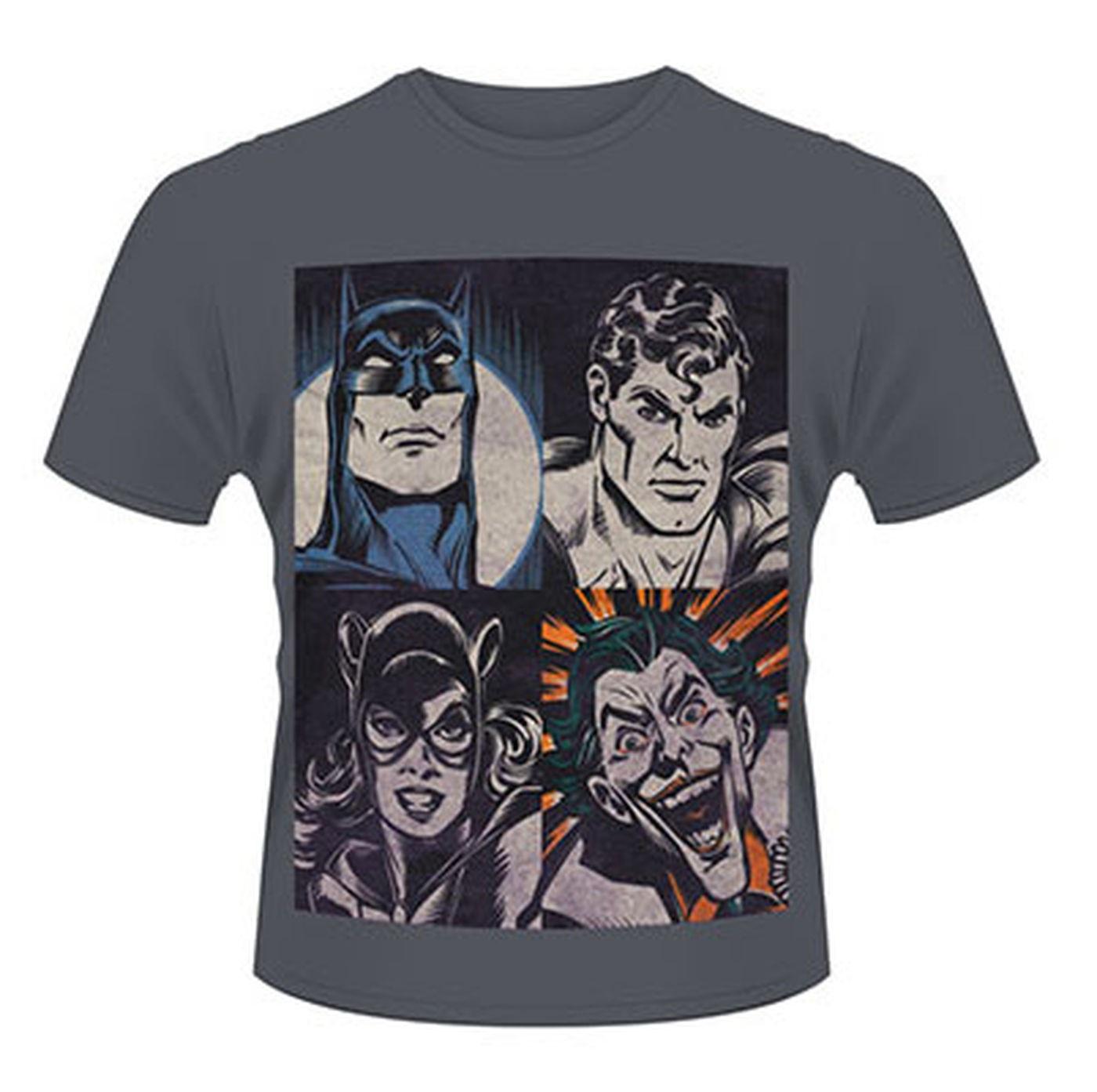 Dc Originals 4 Faces  Mens T-shirt