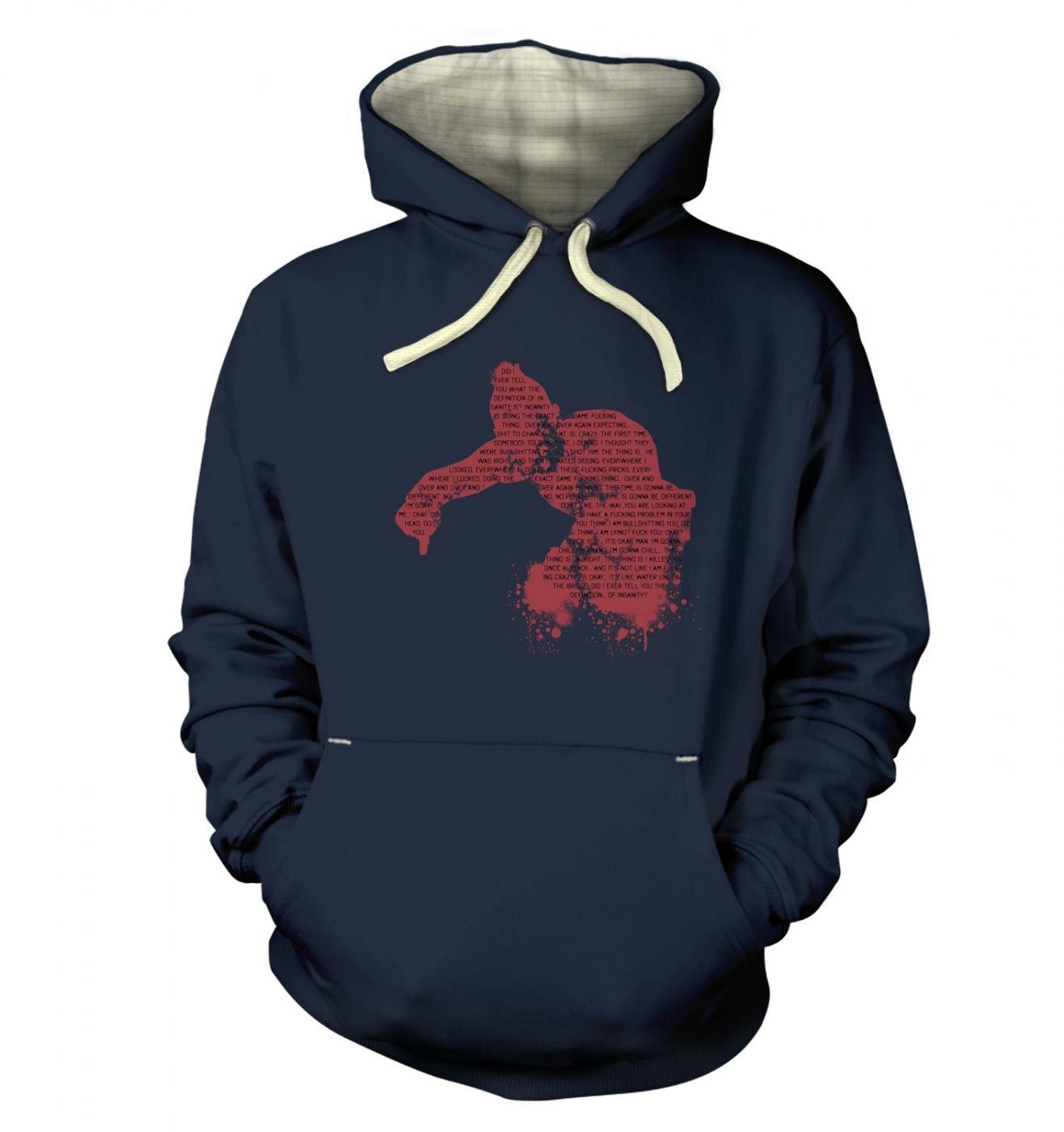 Definition Of Insanity premium hoodie