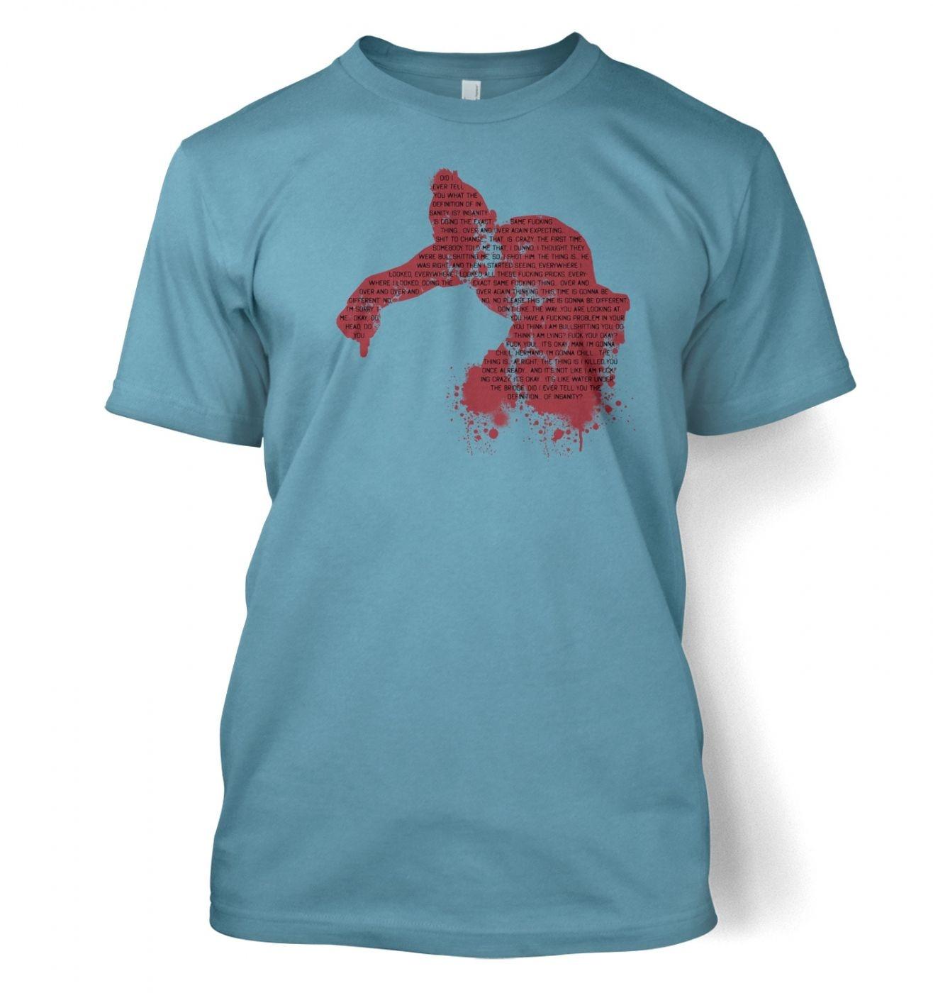 Definition Of Insanity men's t-shirt