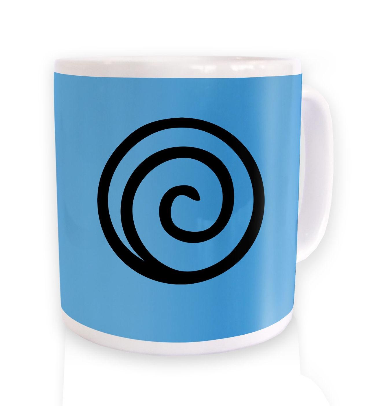Demon Locking Seal ceramic coffee mug