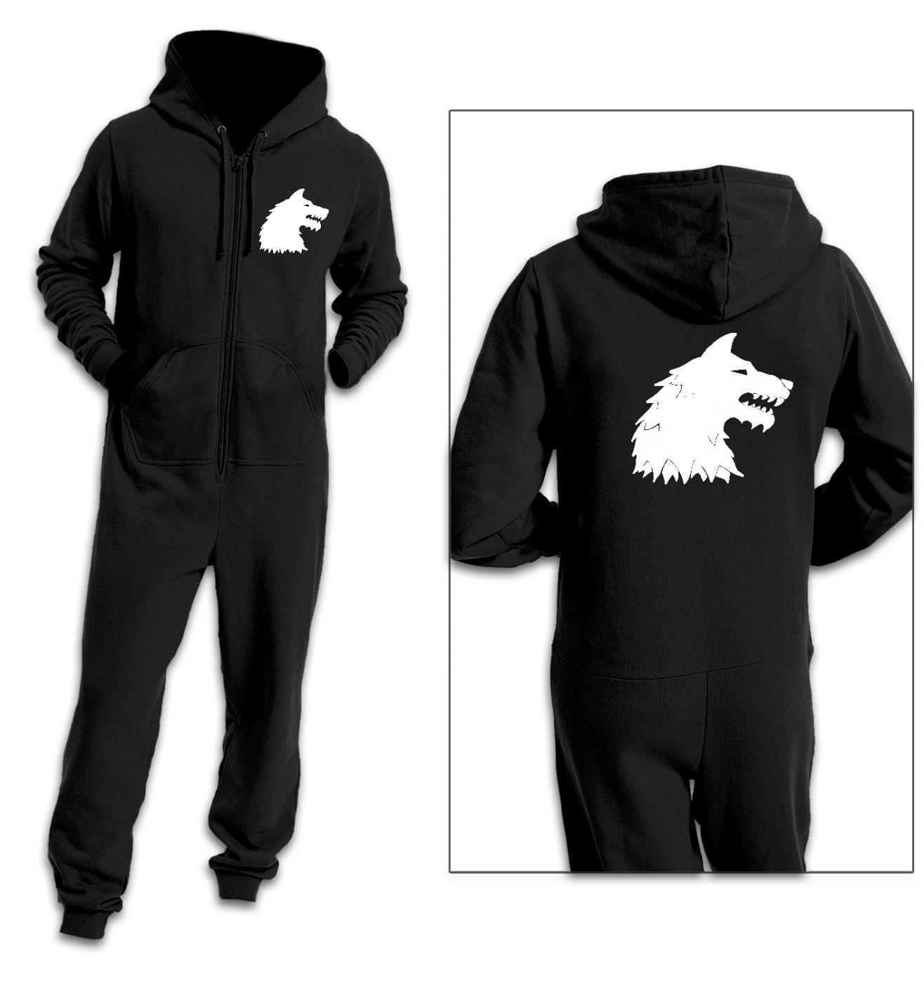 Direwolf adult premium warm onesie