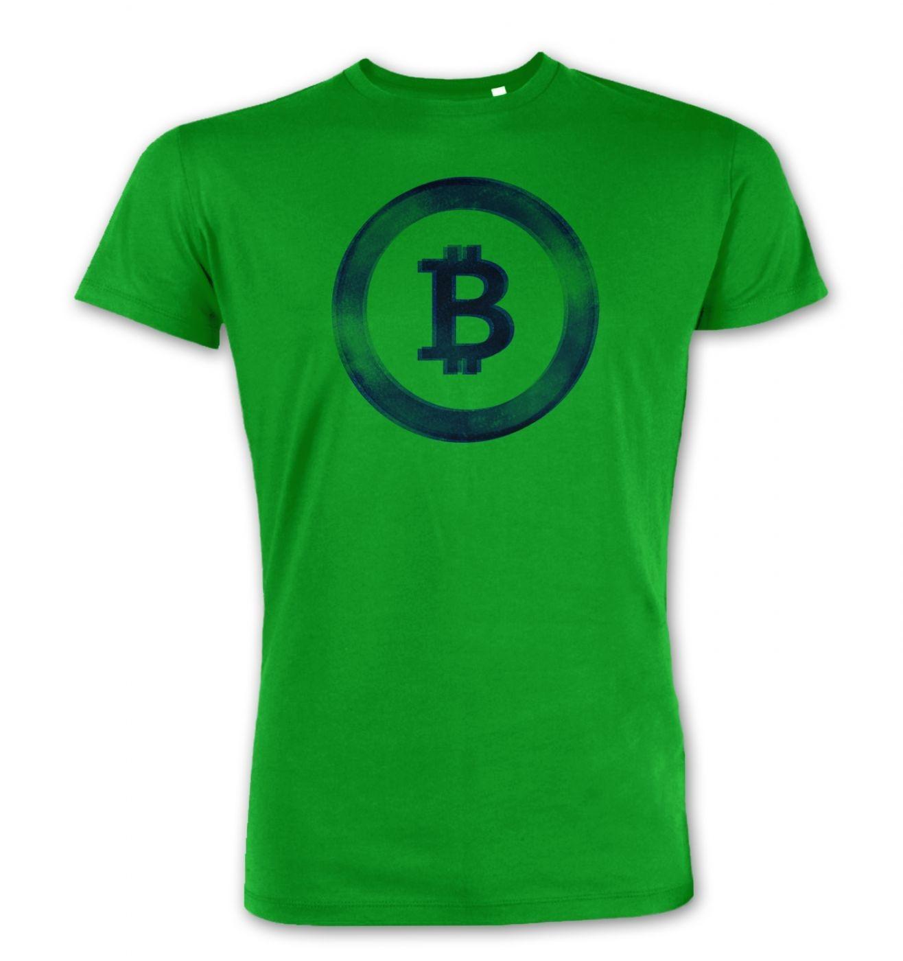 Distressed Bitcoin men's Premium t-shirt
