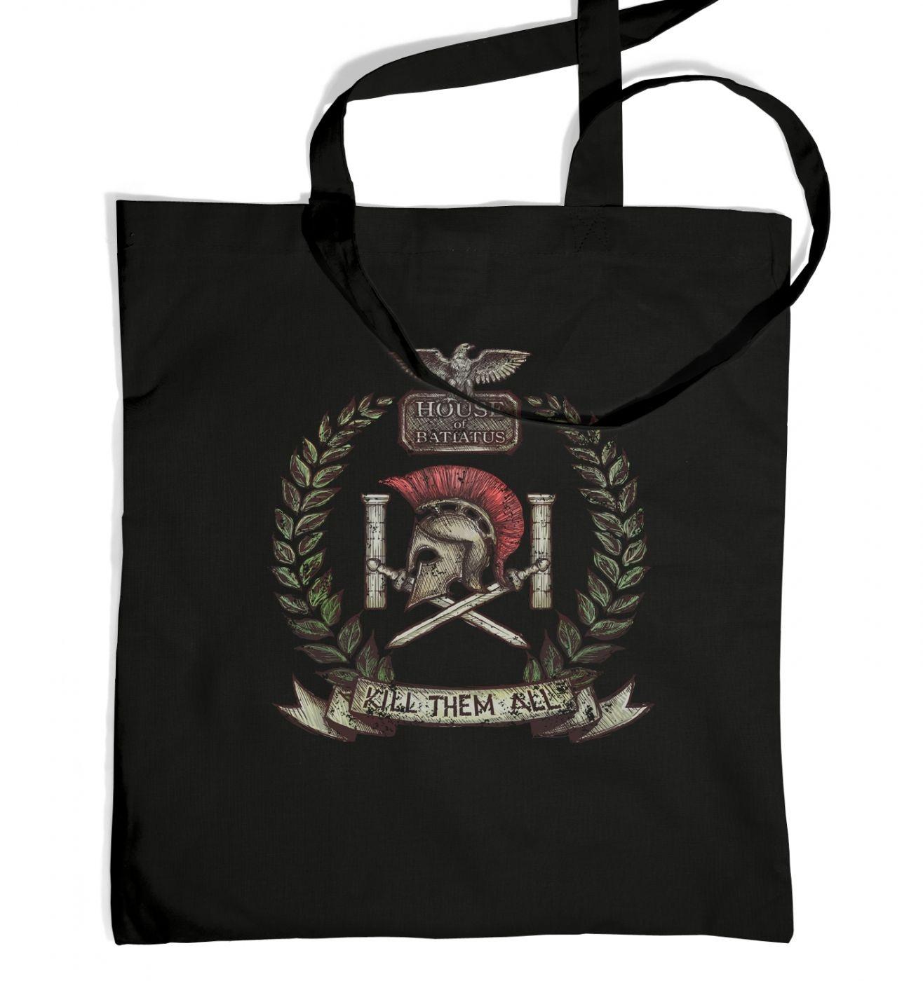 Distressed House Batiatus Crest adults' tote bag