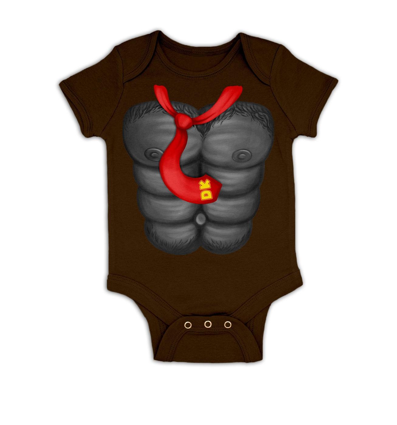 DK Costume baby grow by Something Geeky