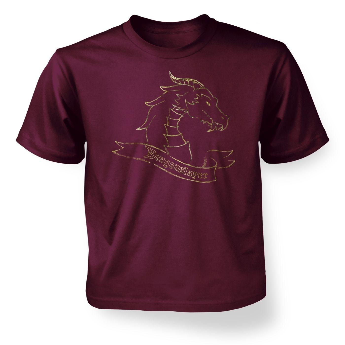 Gold Dragonslayer kids' t-shirt