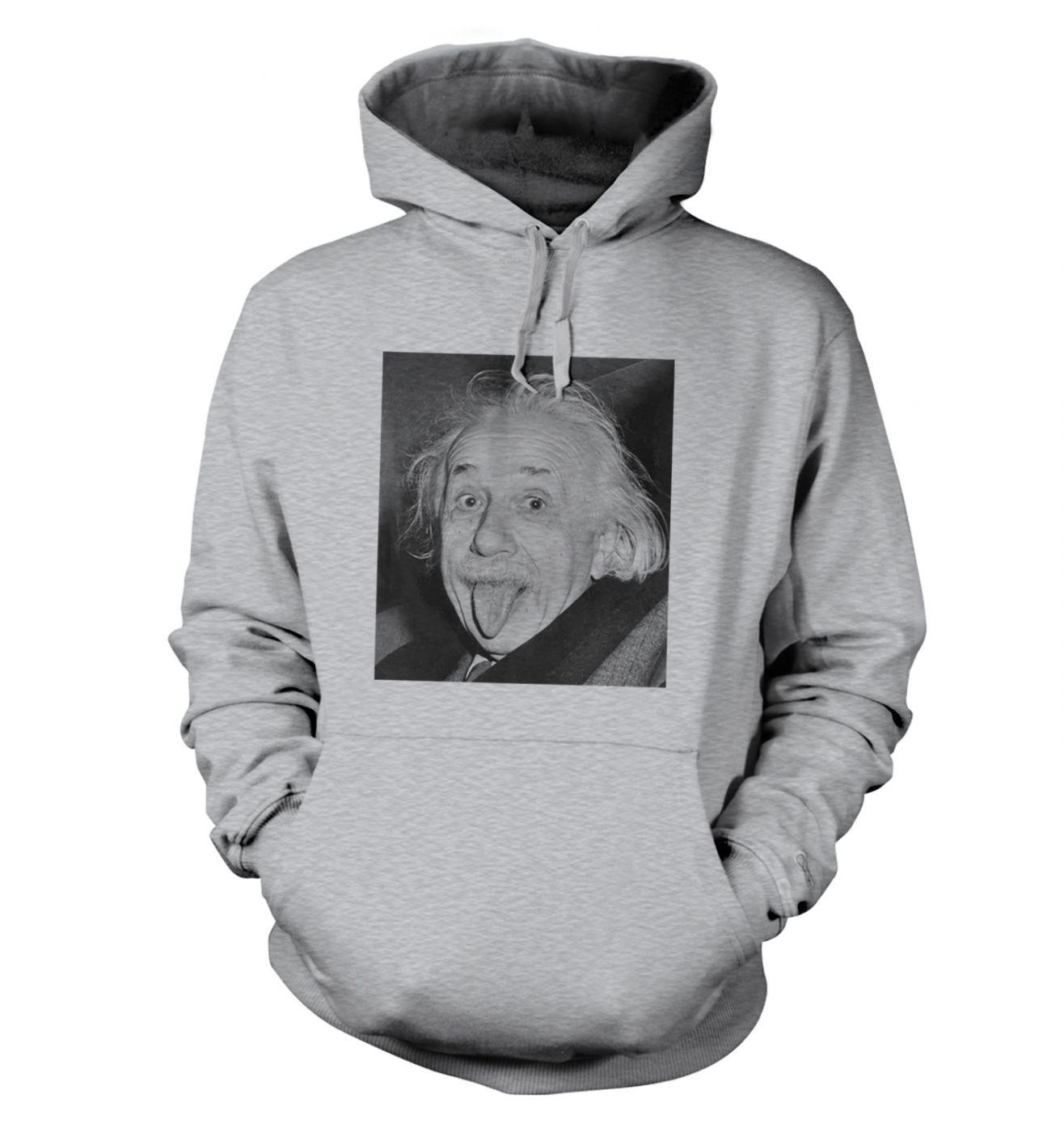 Einstein Tongue hoodie